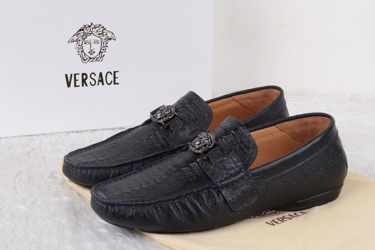 NEW Versace AAA Leather Shoes For Men-2